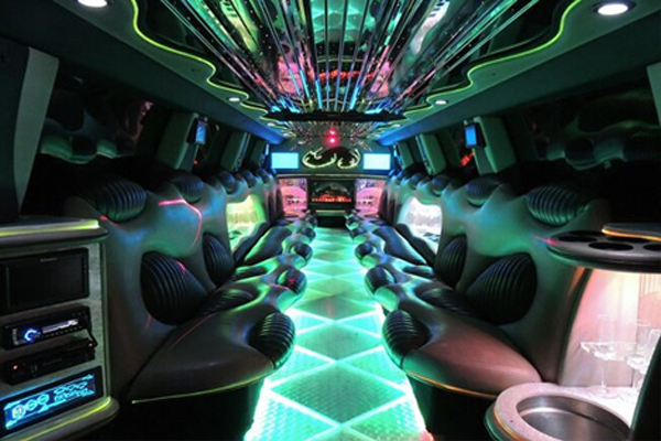 14 Person Hummer Limo Rental Riverside