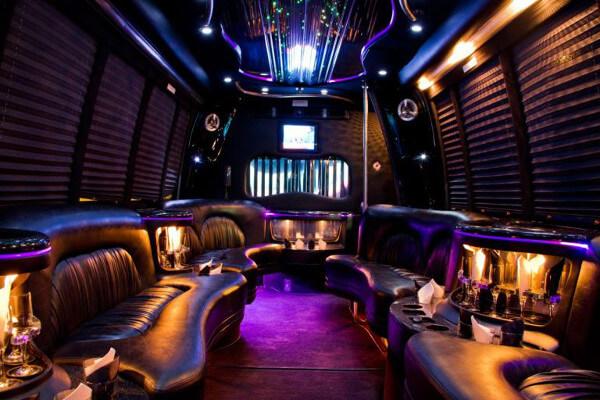 15 Person Party Bus Rental Riverside