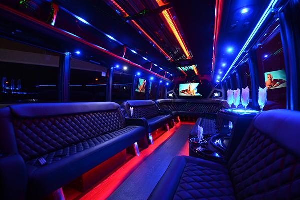 40 Person Party Bus Rental Riverside