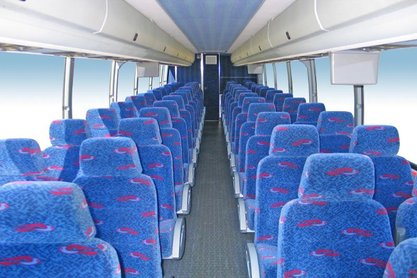 50 Person Charter Bus Rental Riverside