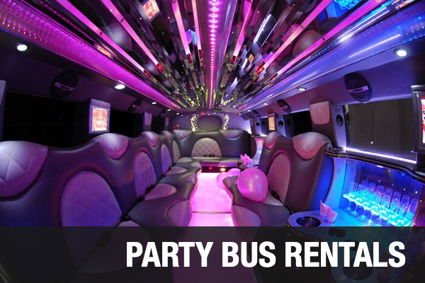 Party Bus Rentals Riverside